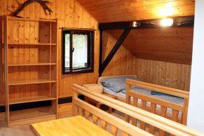 podkrovní pokoj 5x lůžko